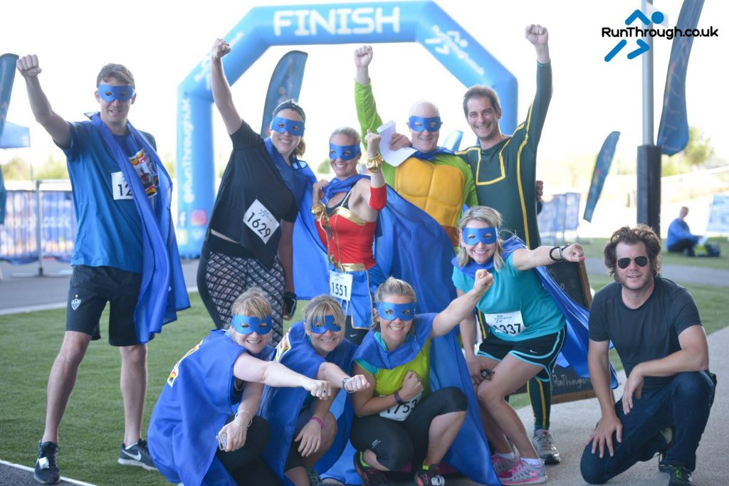 Active for Adam - superhero runners