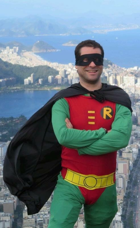 Adam as Robin