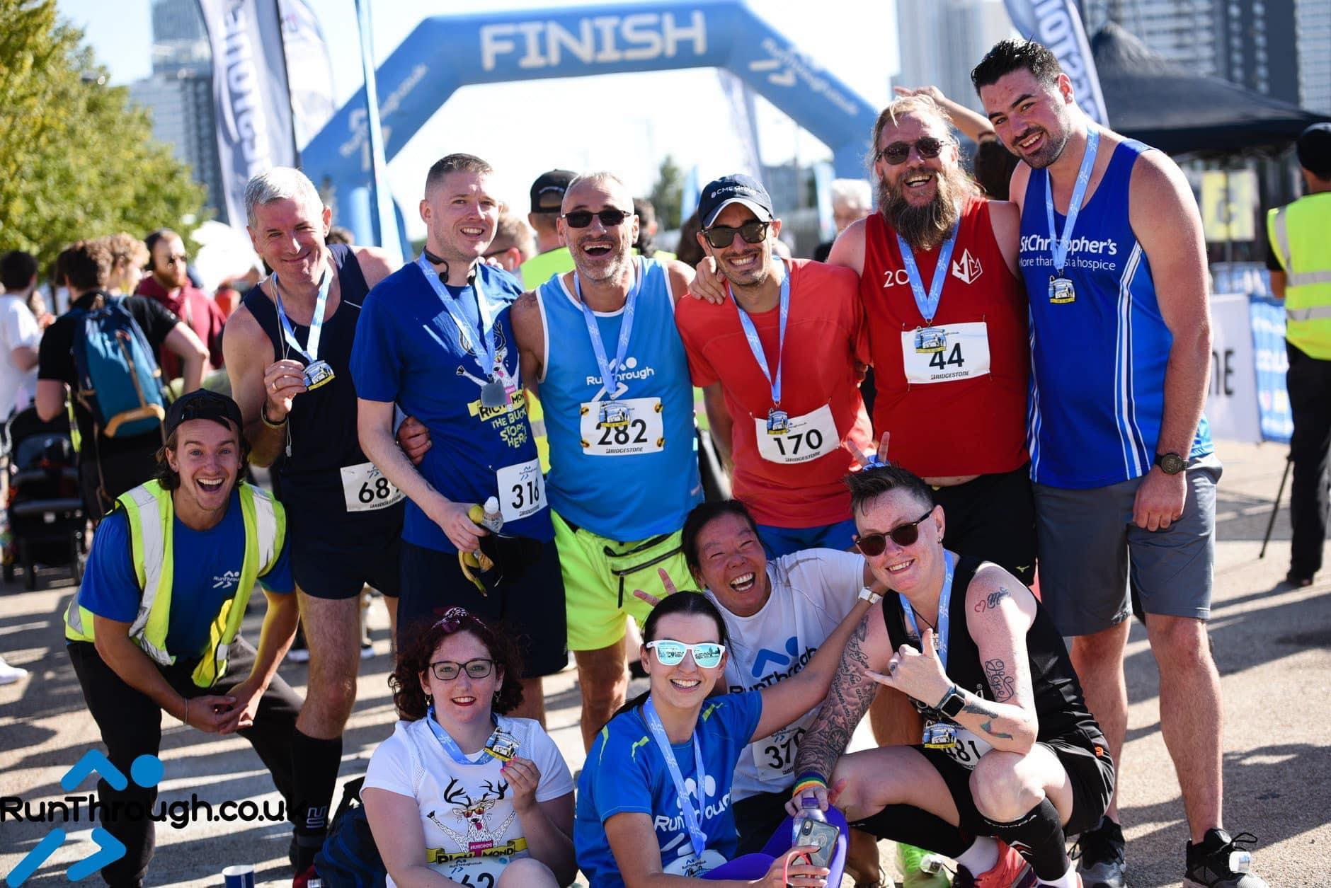 Runner Feature - Stephen Irving RunThrough Running Club London