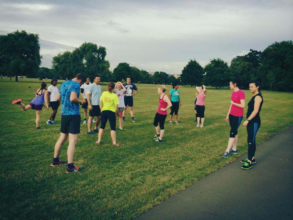 Training Locations RunThrough Running Club London