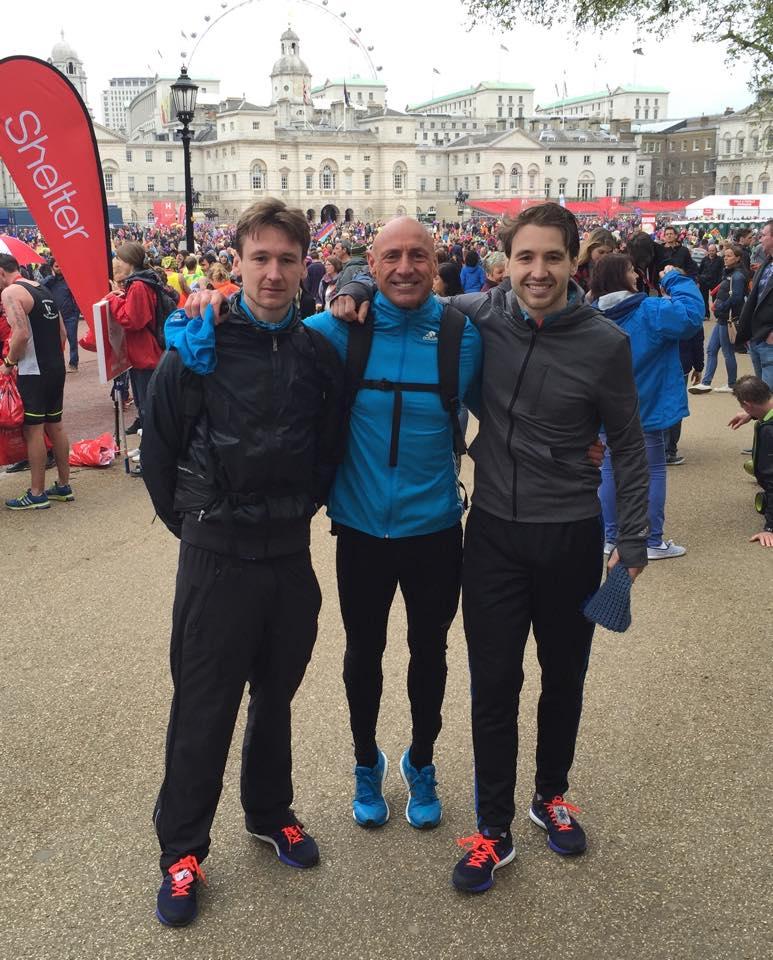 Graham's Blog to winning the V50 London Marathon! Race Day RunThrough Running Club London
