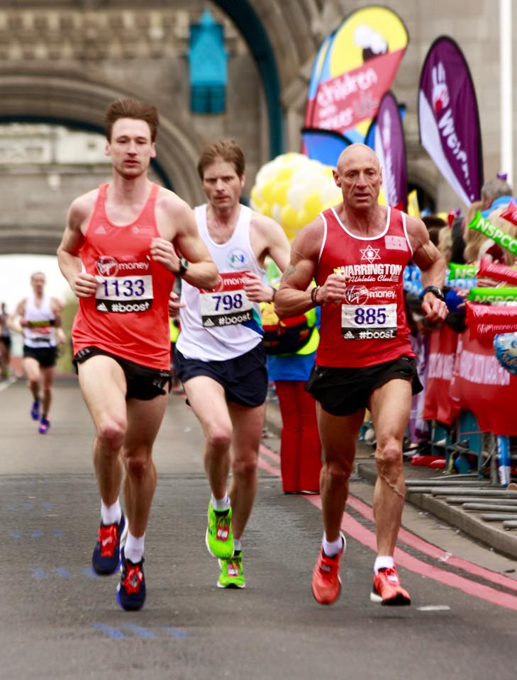Graham's Blog to winning the V50 London Marathon! Race Day