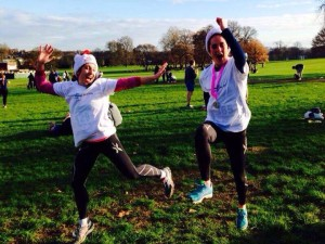 Erin's Blog - Champions Day RunThrough Running Club London