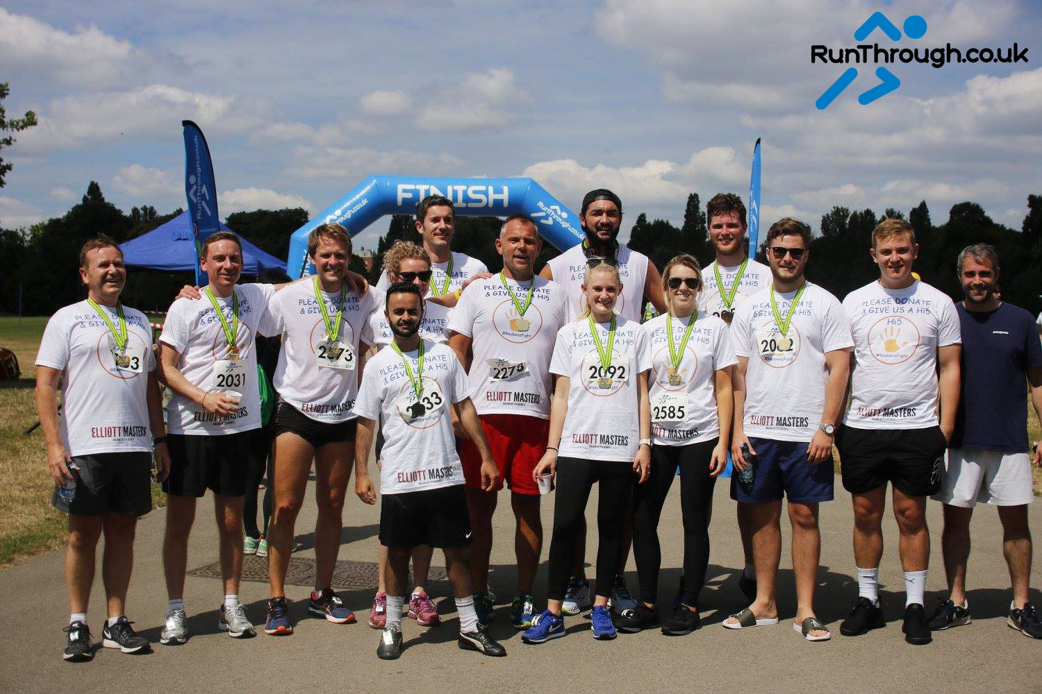 Runner Feature – Reubens Fight