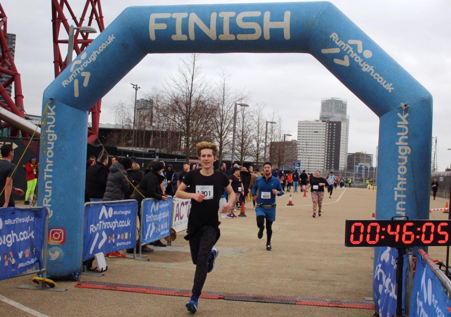 Runner Feature - George Long RunThrough Running Club London