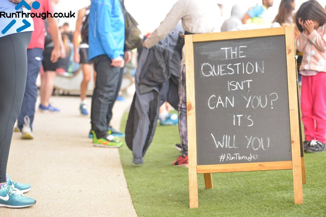 Time to get started! RunThrough Running Club London