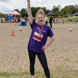 Runner Feature - Saskia Wickins RunThrough Running Club London