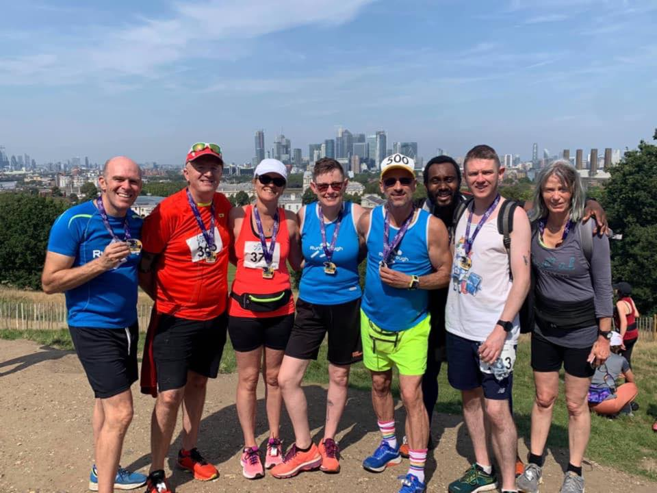 Runner Feature - Jackie Swain RunThrough Running Club London
