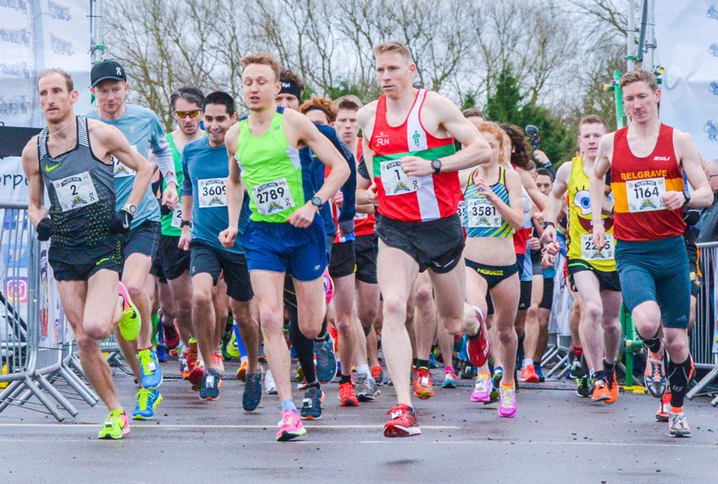 12 Week Half Marathon Training Plan by Andy Vernon RunThrough Running Club London