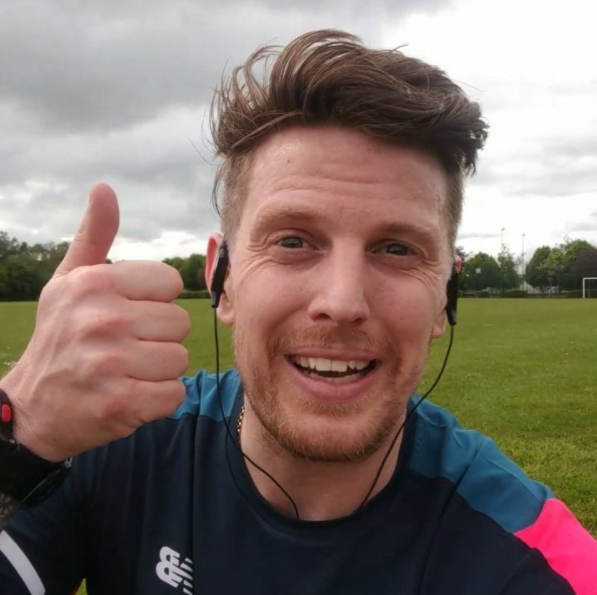 Colin McCourt - GB Athlete turned self proclaimed fatty RunThrough Running Club London