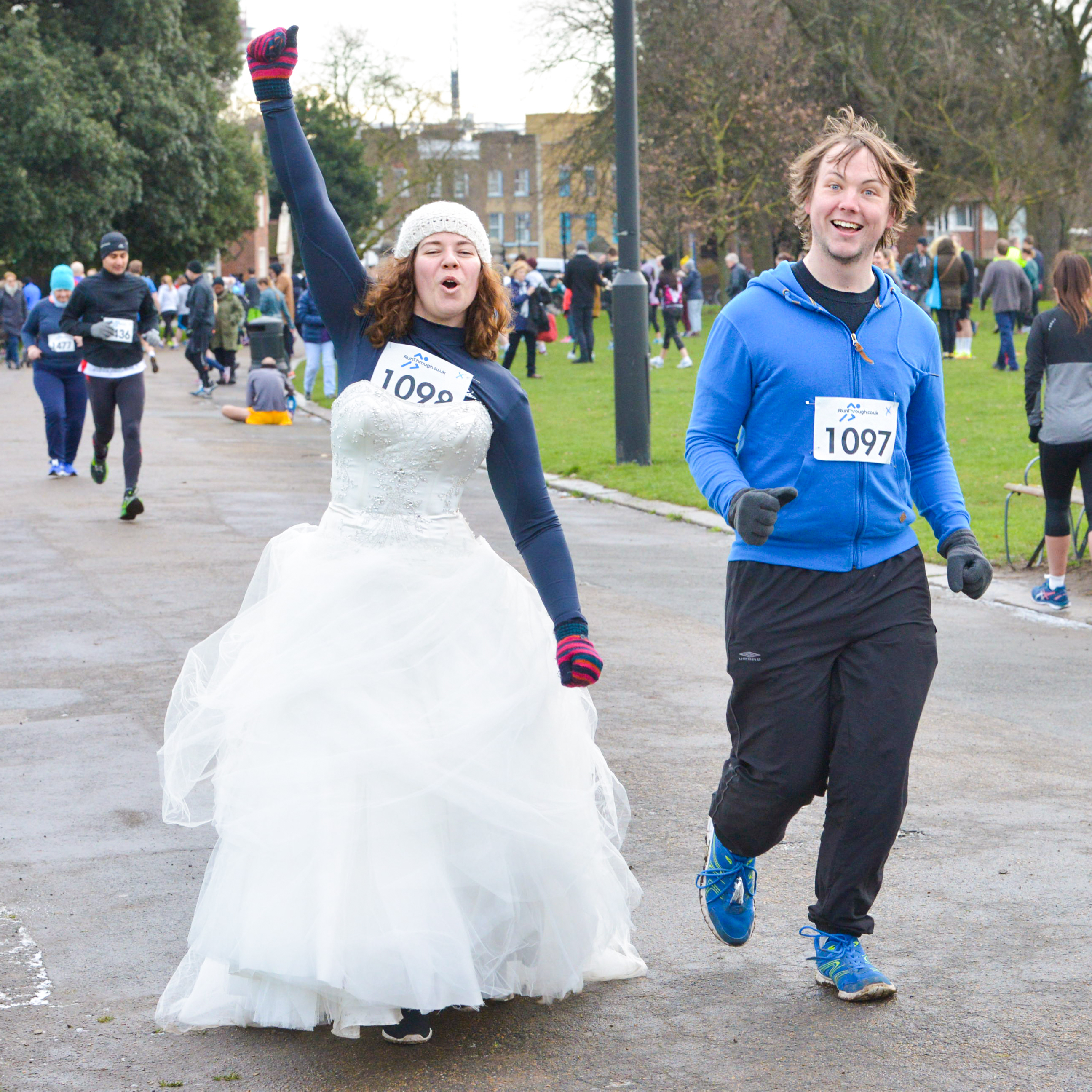 Runner Feature – Lucy & Dan's Wedding Quest