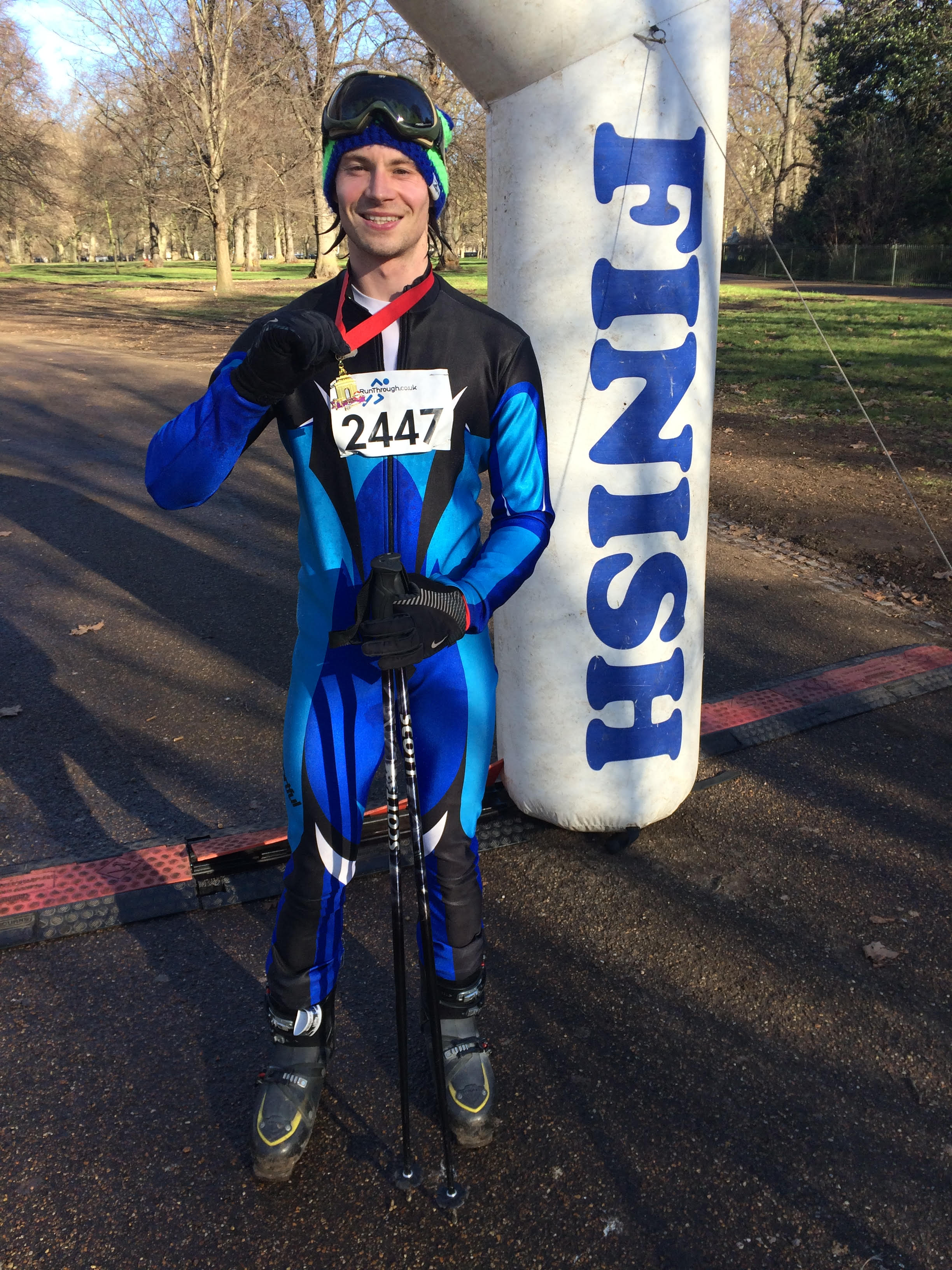 Runner Feature - Greg Ski Hero RunThrough Running Club London