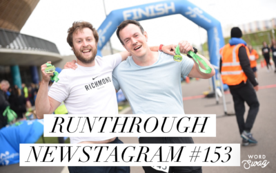 RunThrough Newsletter – Monday 29th April