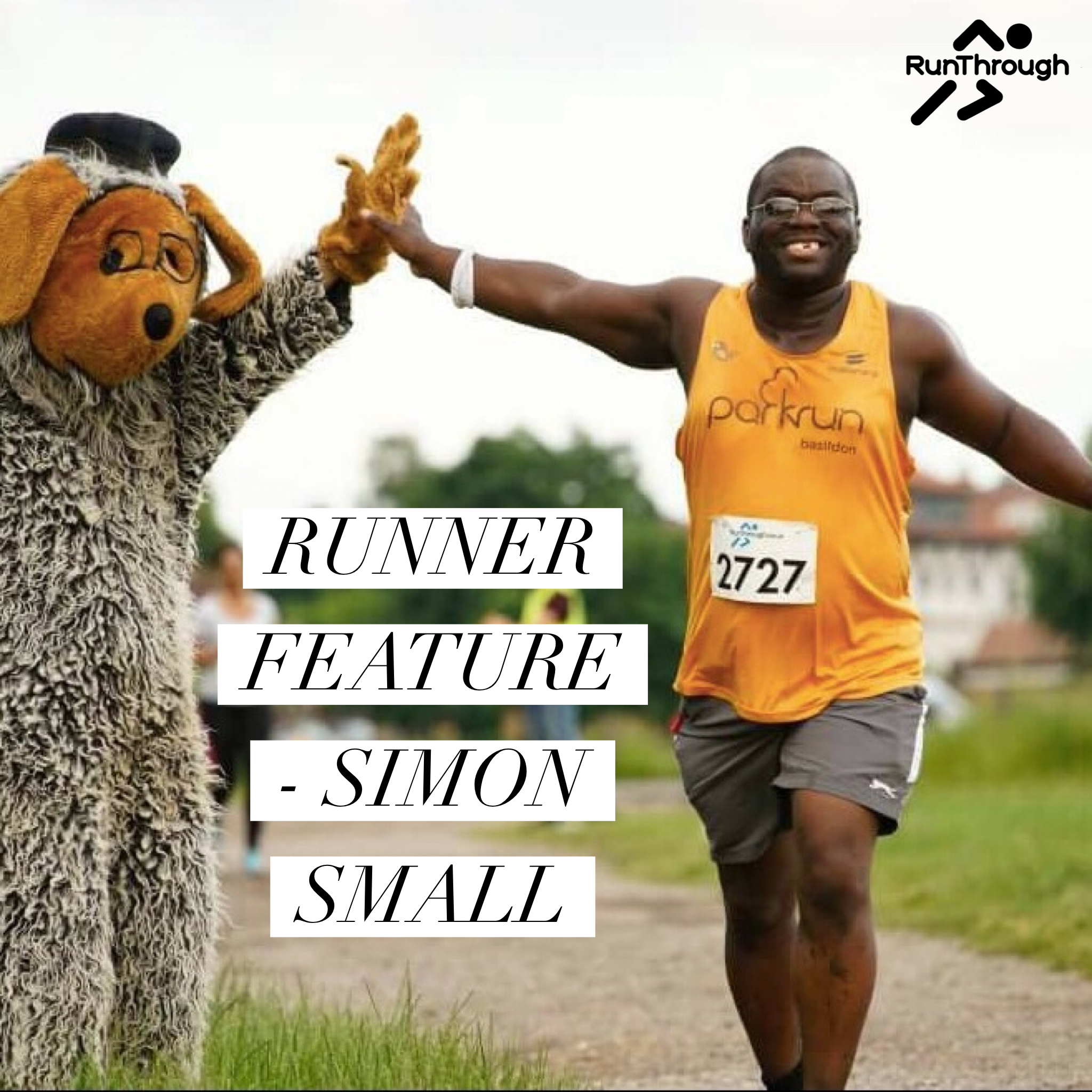 Runner Feature – Simon Small