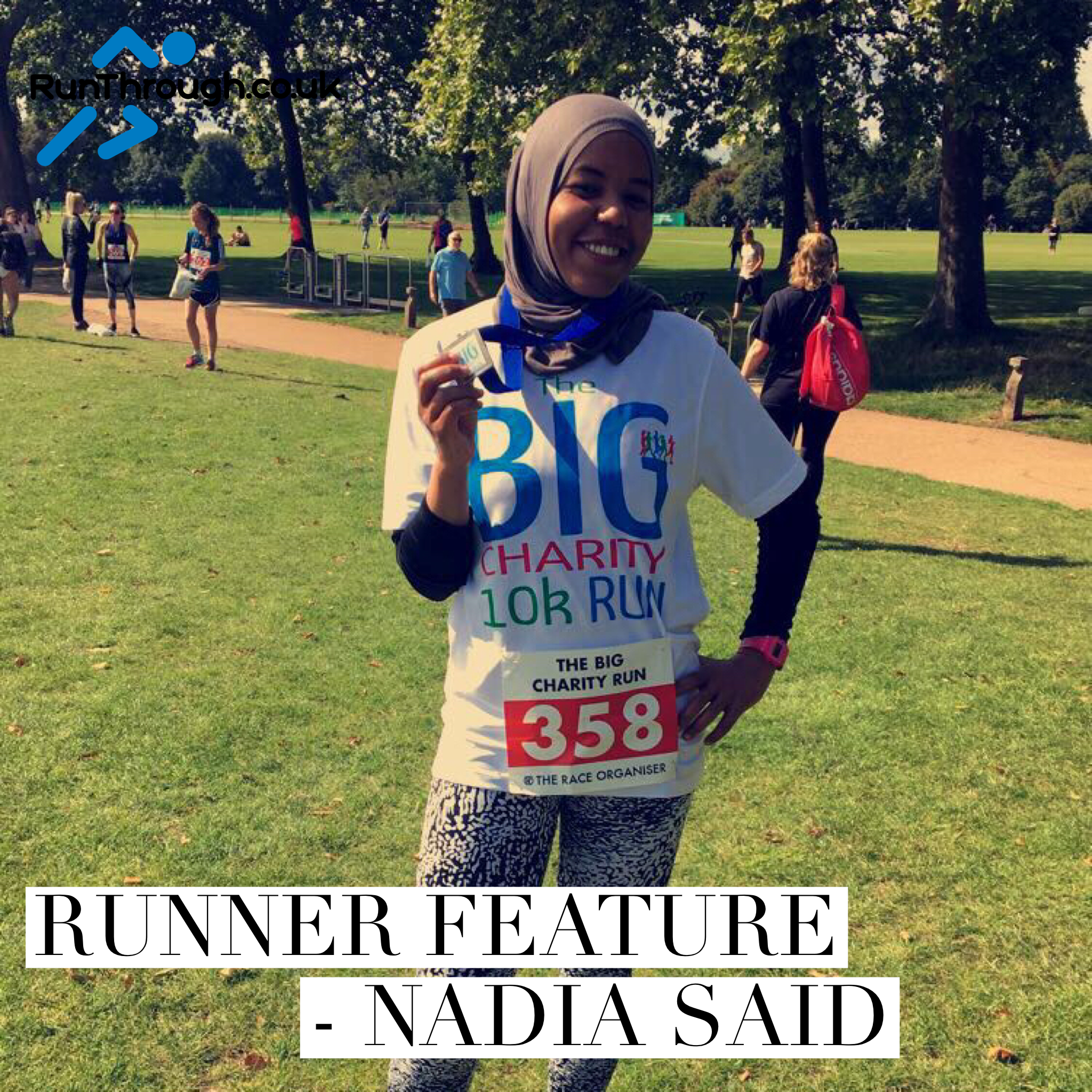 Runner Feature – Nadia Said