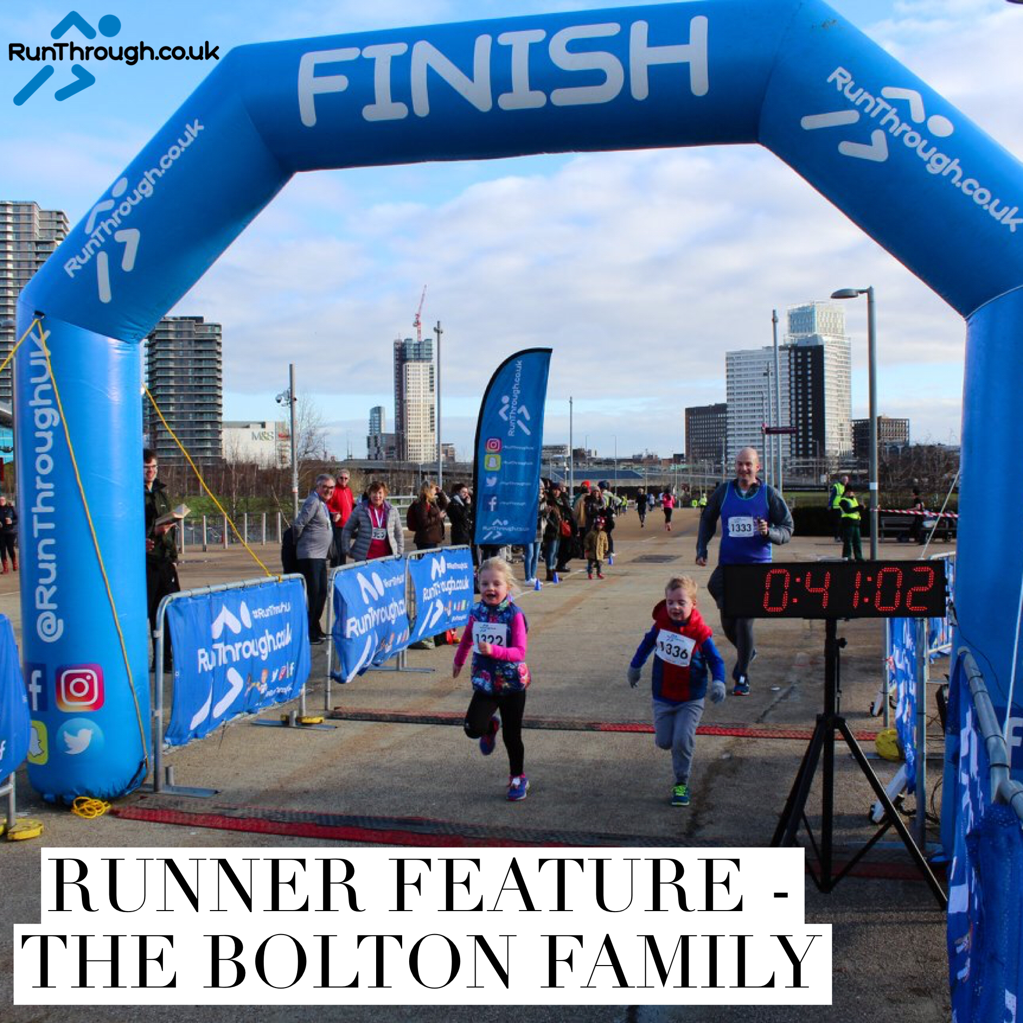 Runner Feature – The Bolton Family