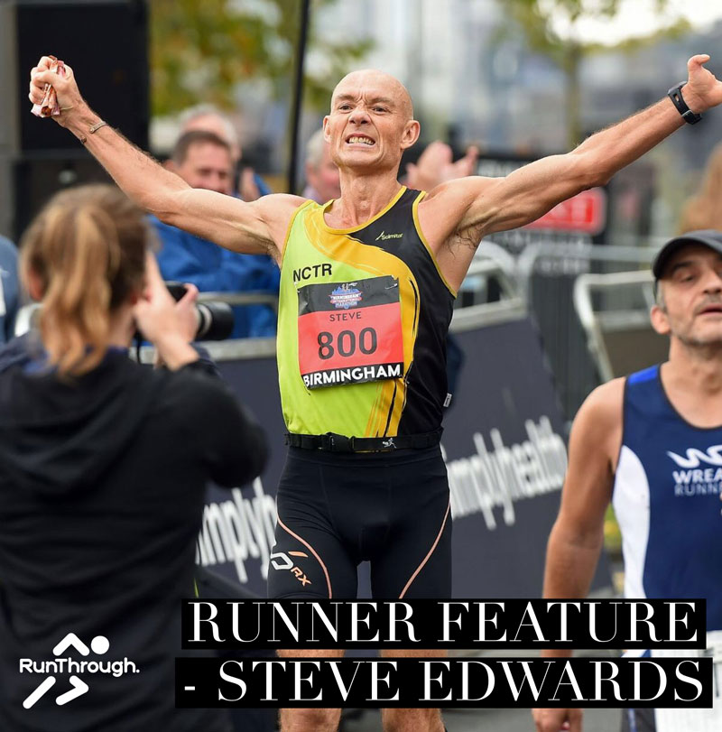 Runner Feature – Steve Edwards