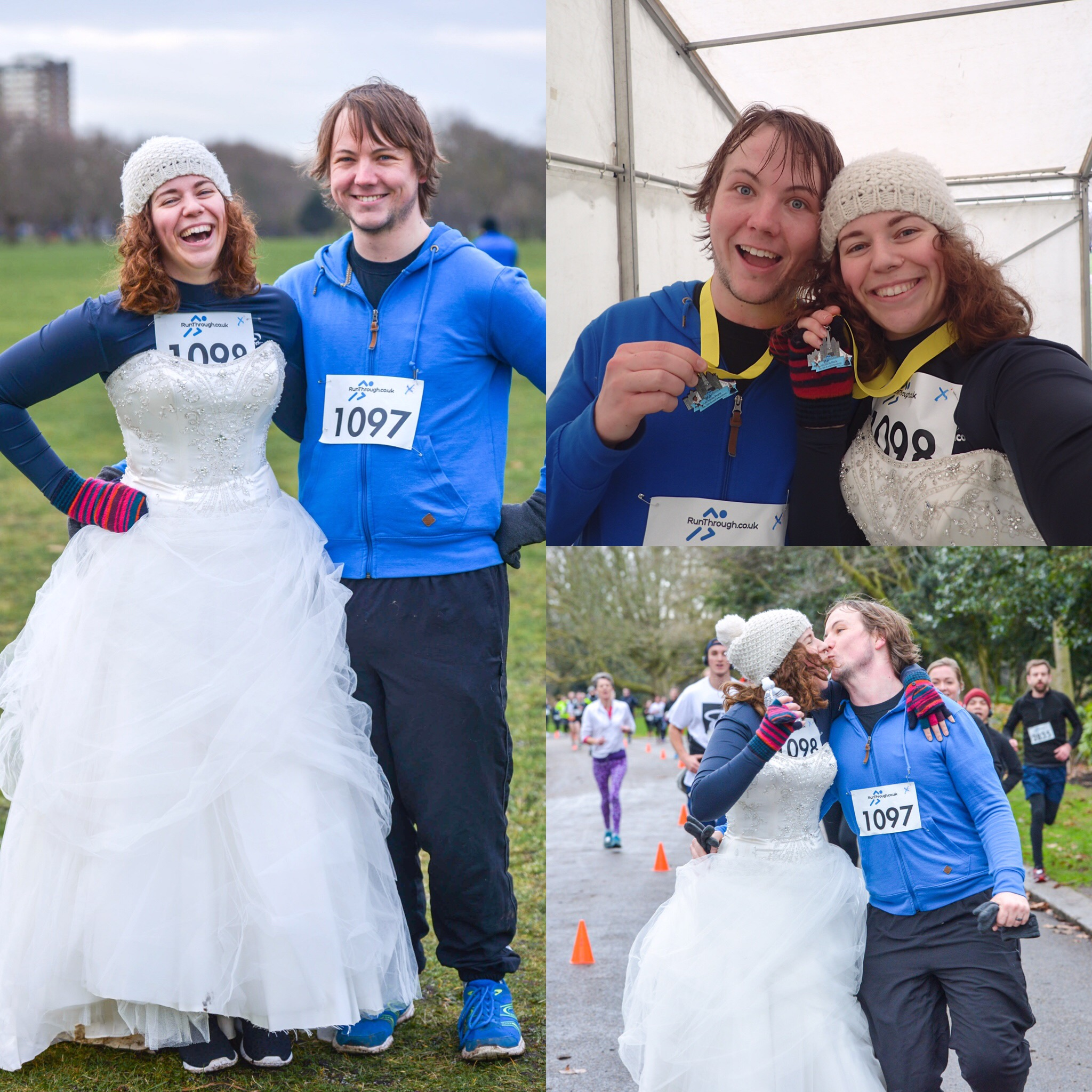 Runner Feature - Lucy & Dan's Wedding Quest RunThrough Running Club London