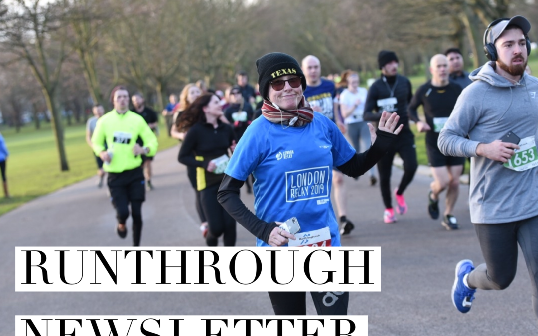 RunThrough Newsletter 8th March 2021