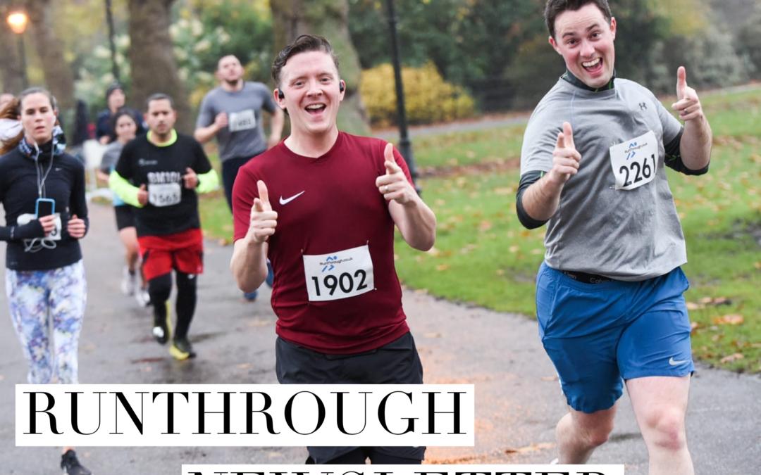 RunThrough Newsletter 15th March 2021