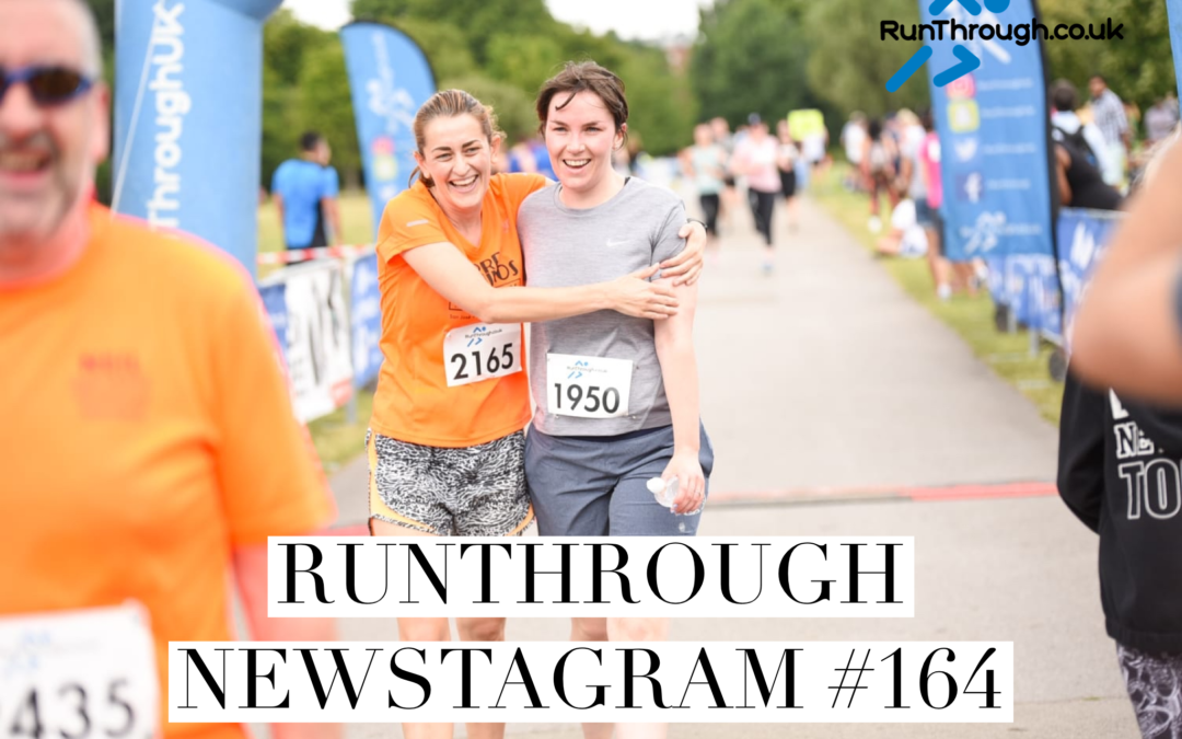RunThrough Newsletter 15th July 2019