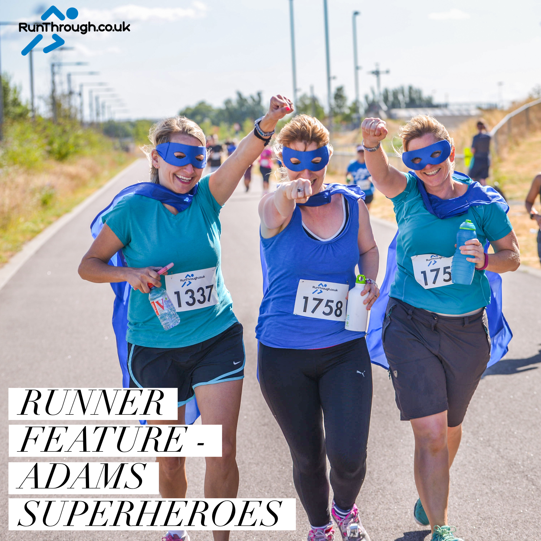 Runner Feature – Adams Superheroes
