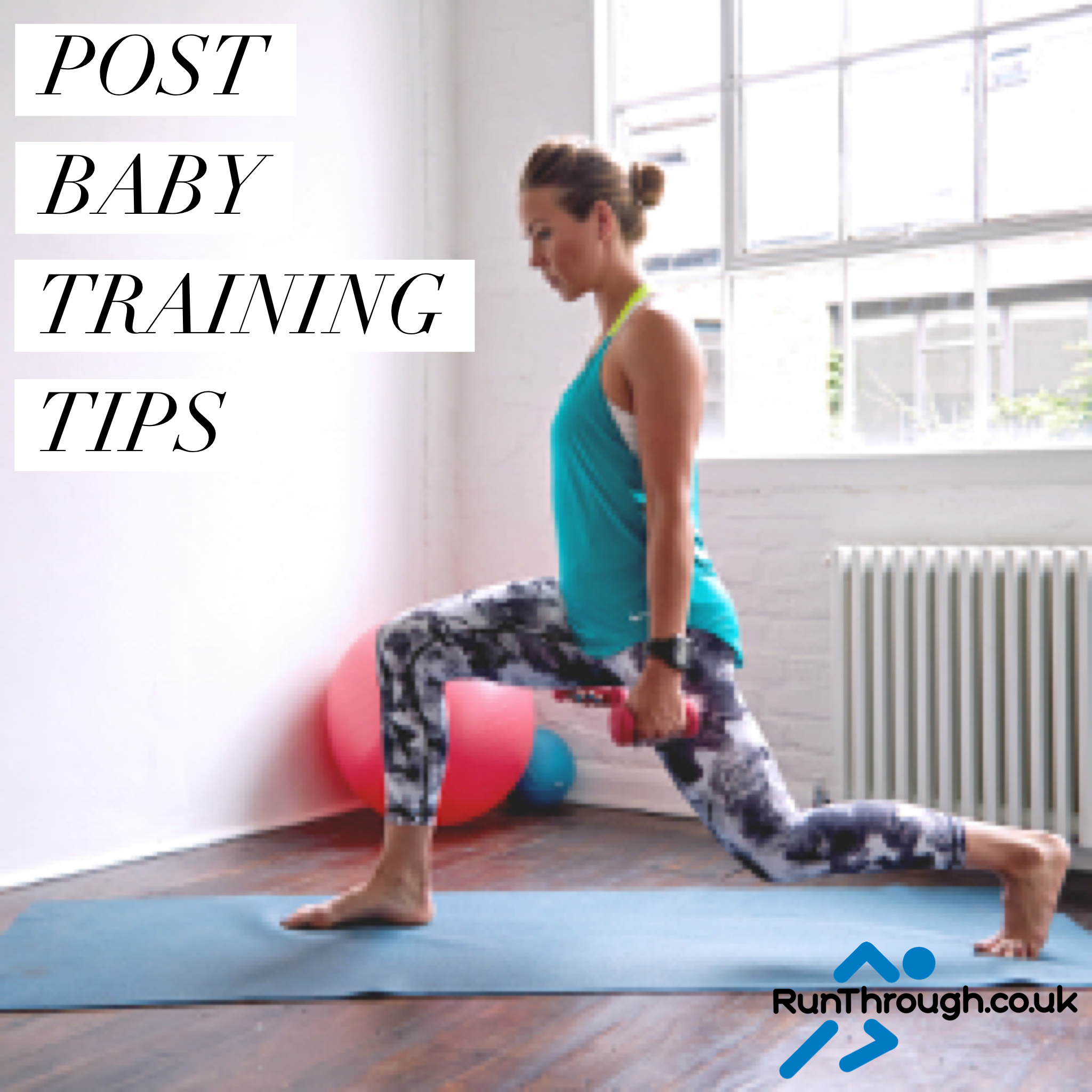 Post Baby Training Tips