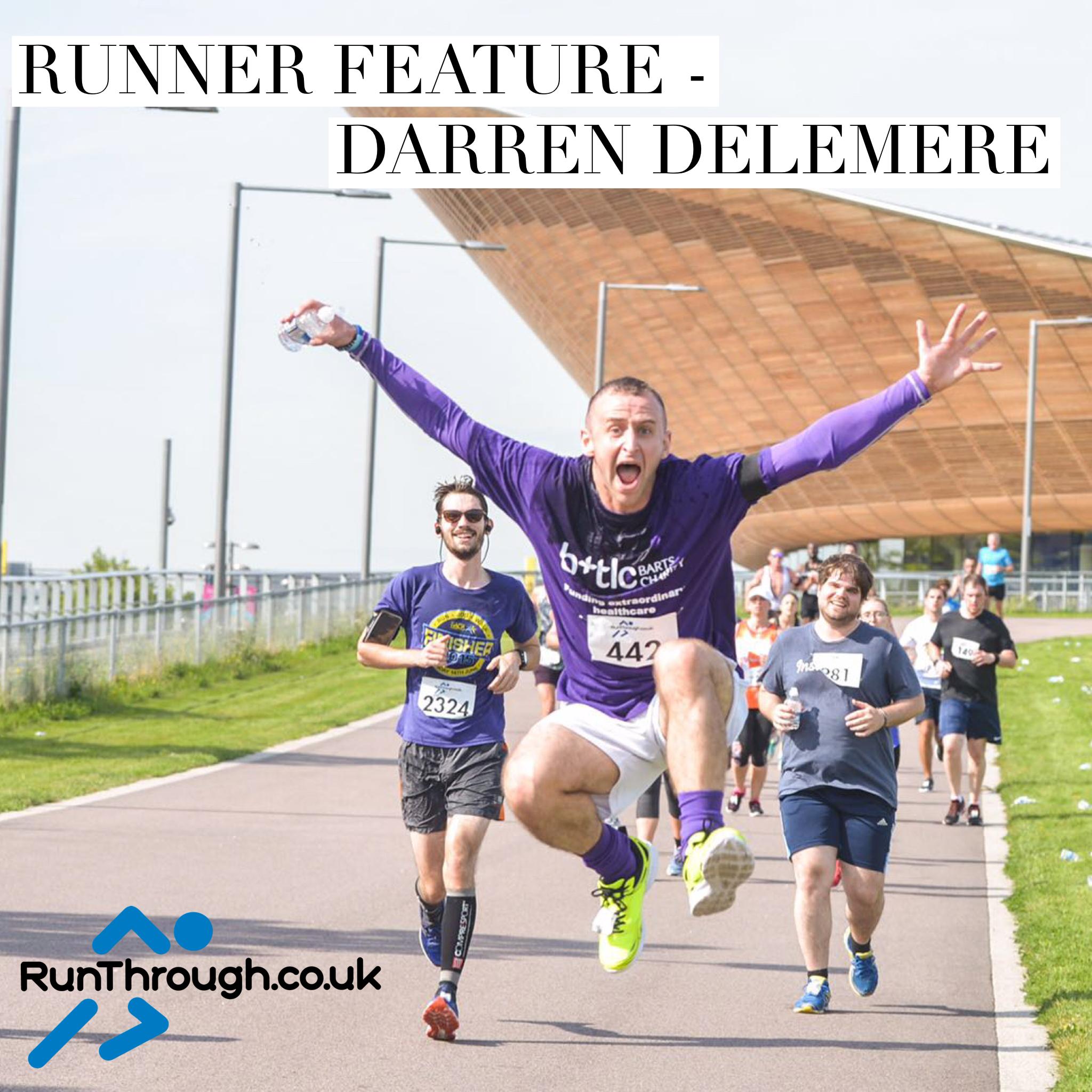 Runner Feature – Darren Delemere