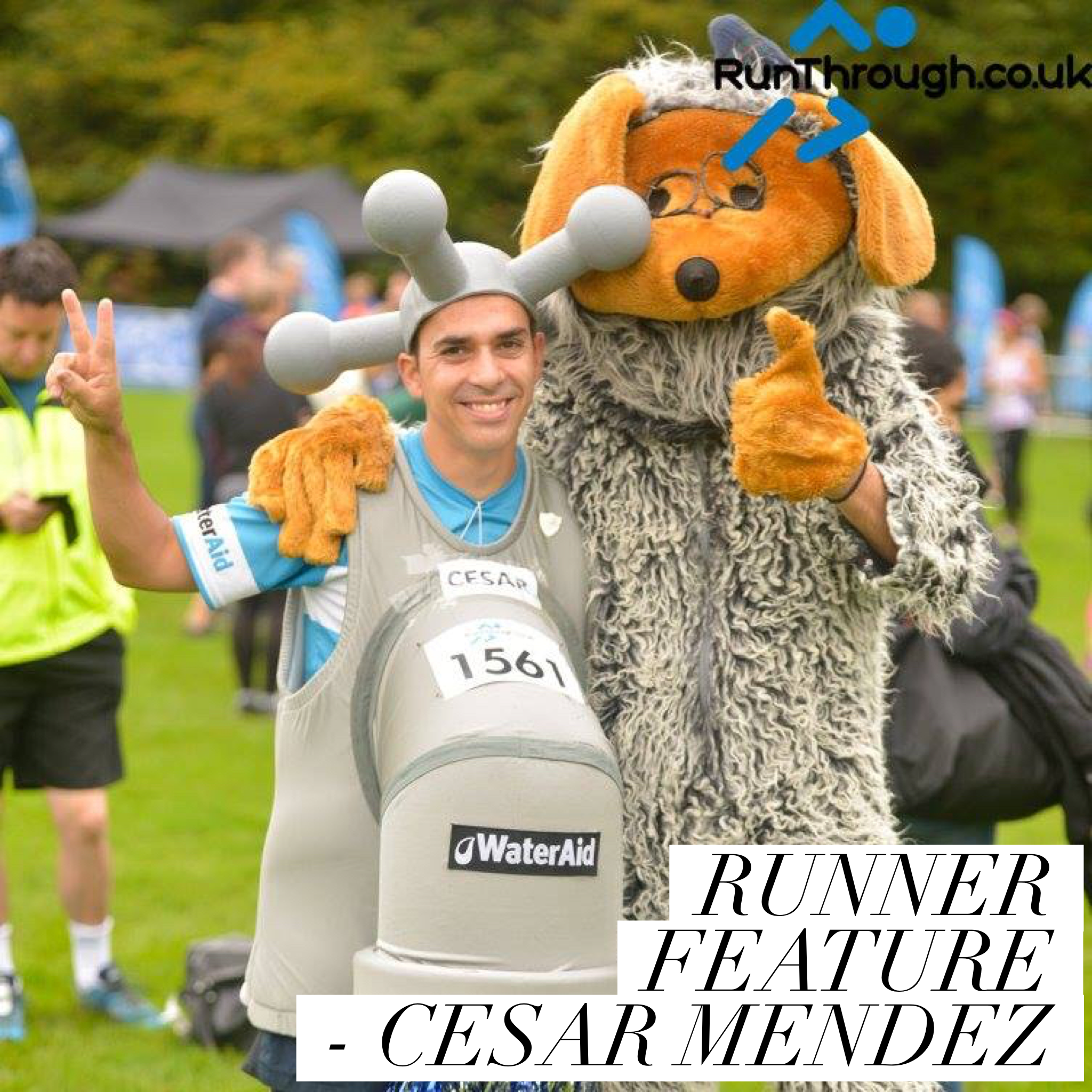 Runner Feature – Cesar Mendez