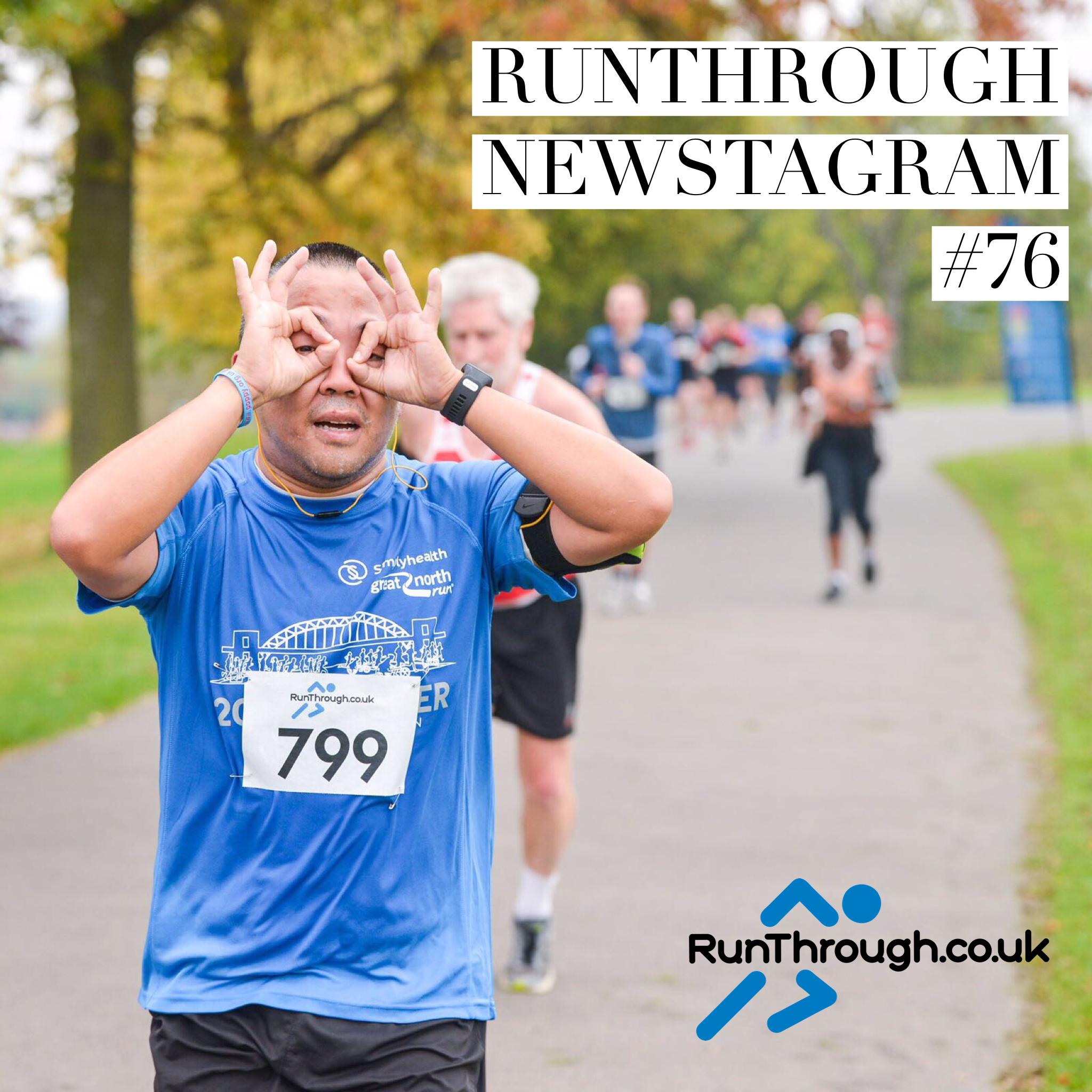 RunThrough Newsletter 13th November 2017