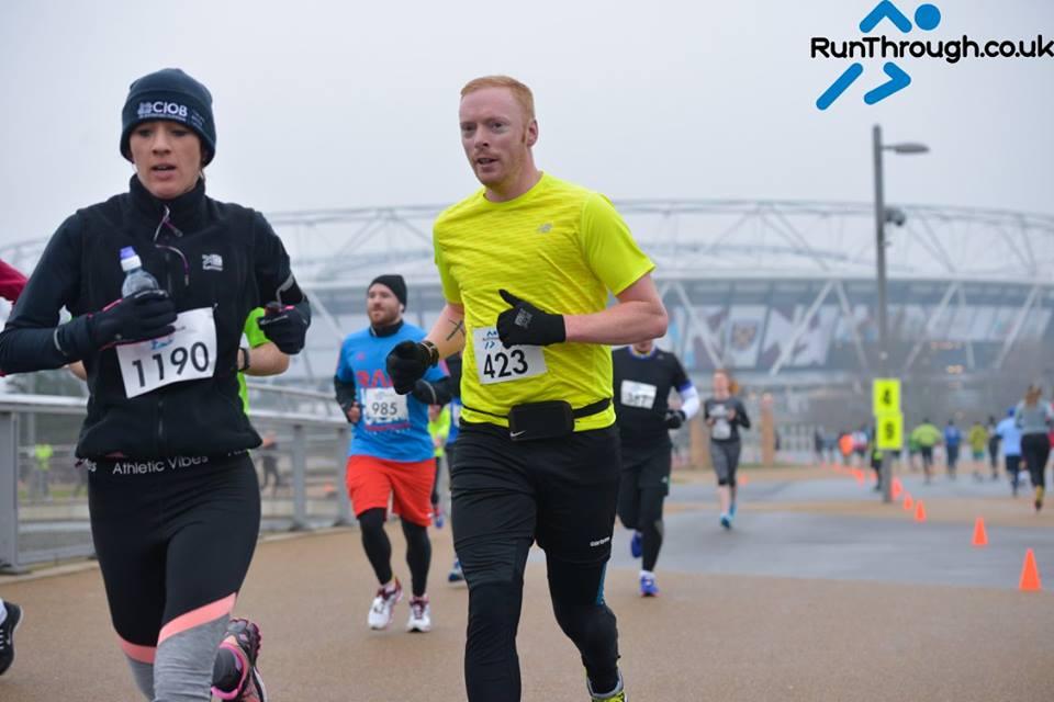 Runner Feature - Kieron Fosher RunThrough Running Club London