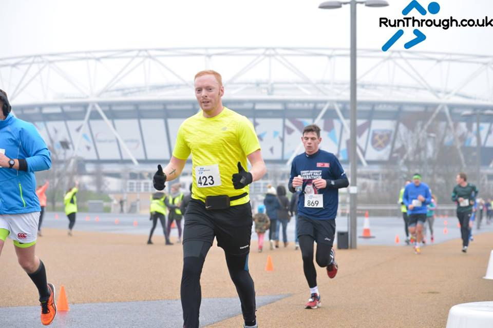 Runner Feature – Kieron Fosher