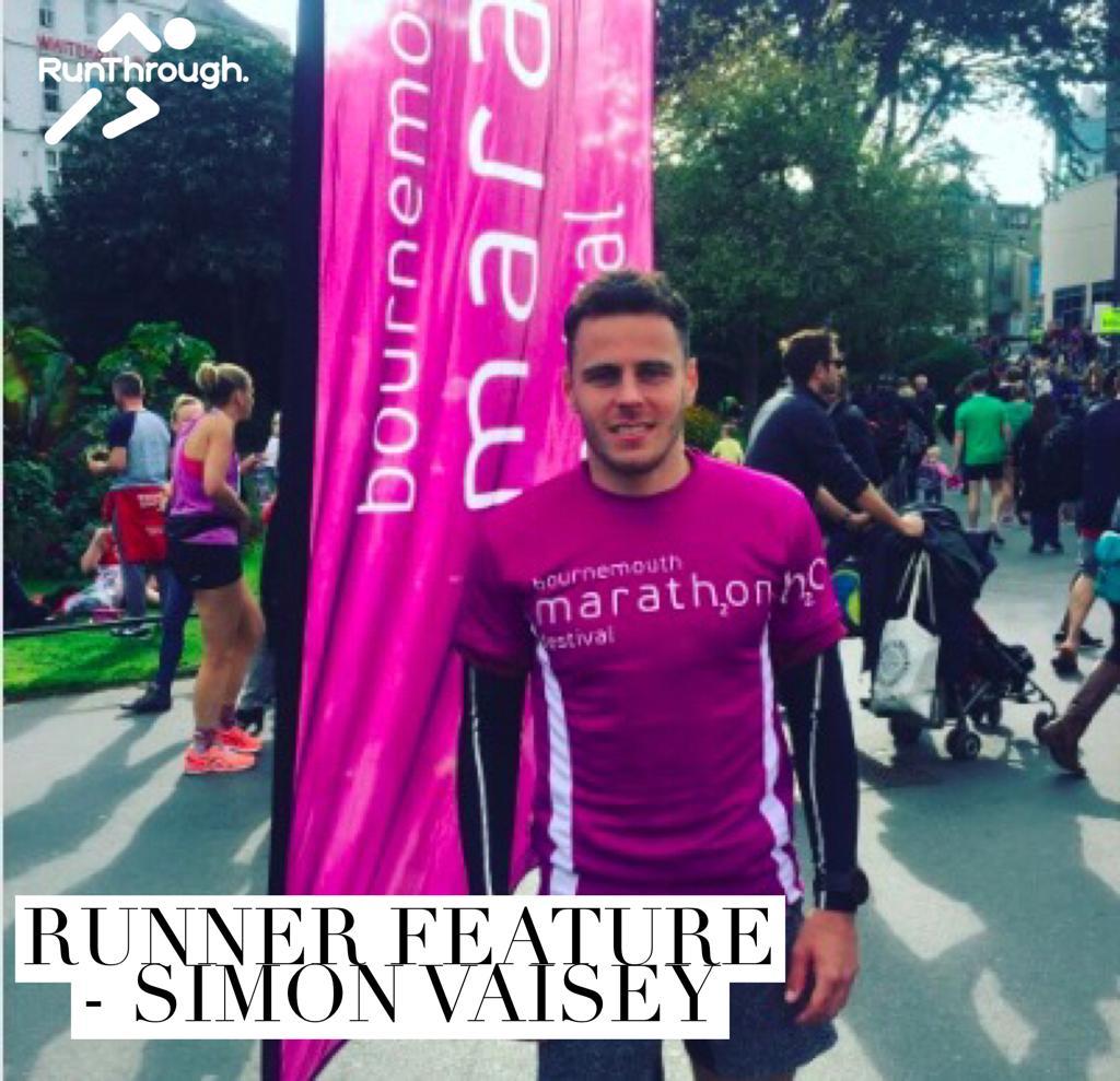 Runner Feature – Simon Vaisey