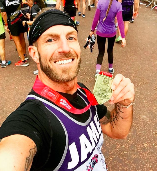 Runner Feature - James Ingham RunThrough Running Club London