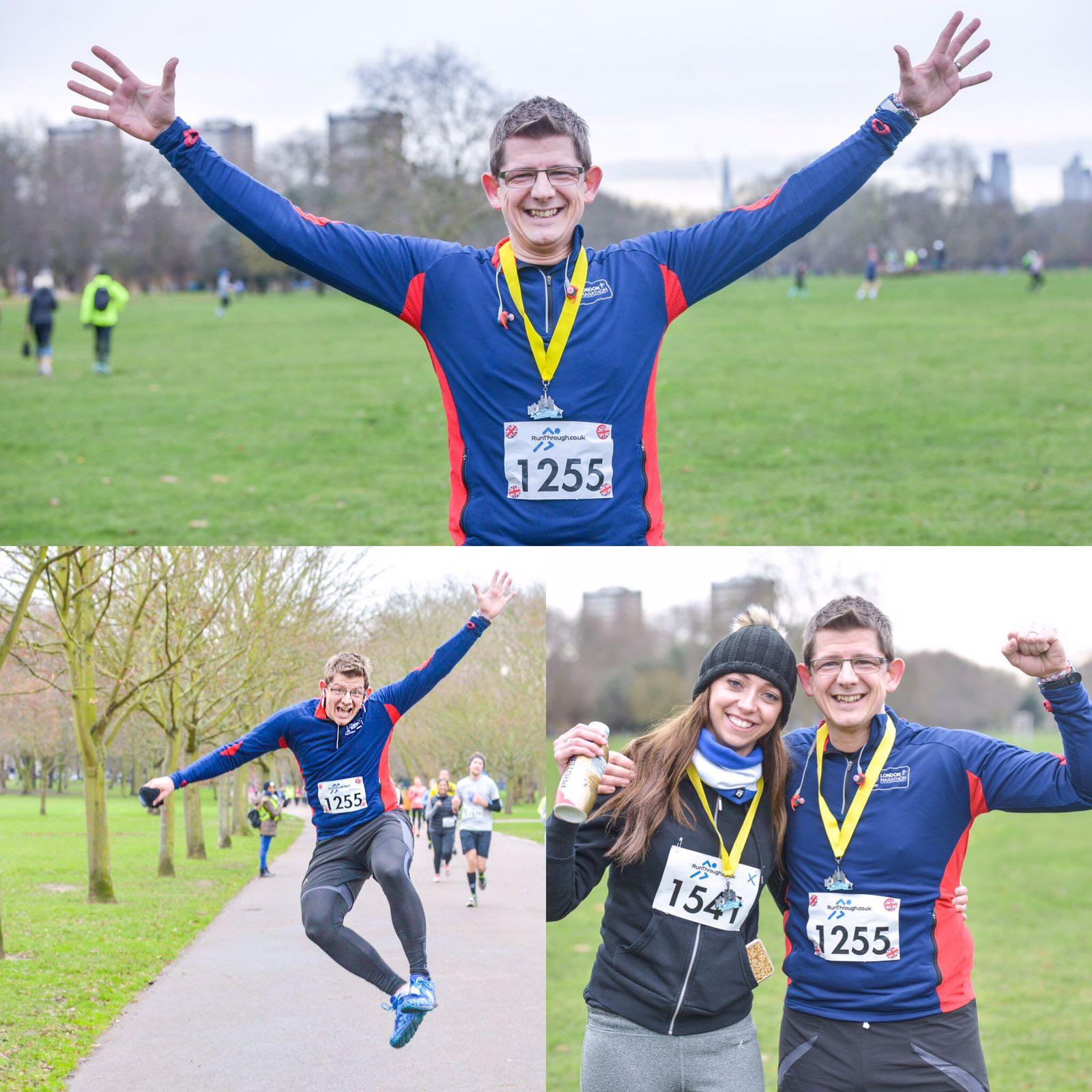 Runner Feature - Steve's 40 for 40 RunThrough Running Club London