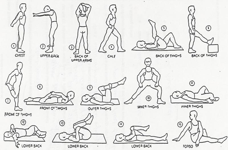 Stretching RunThrough Running Club London