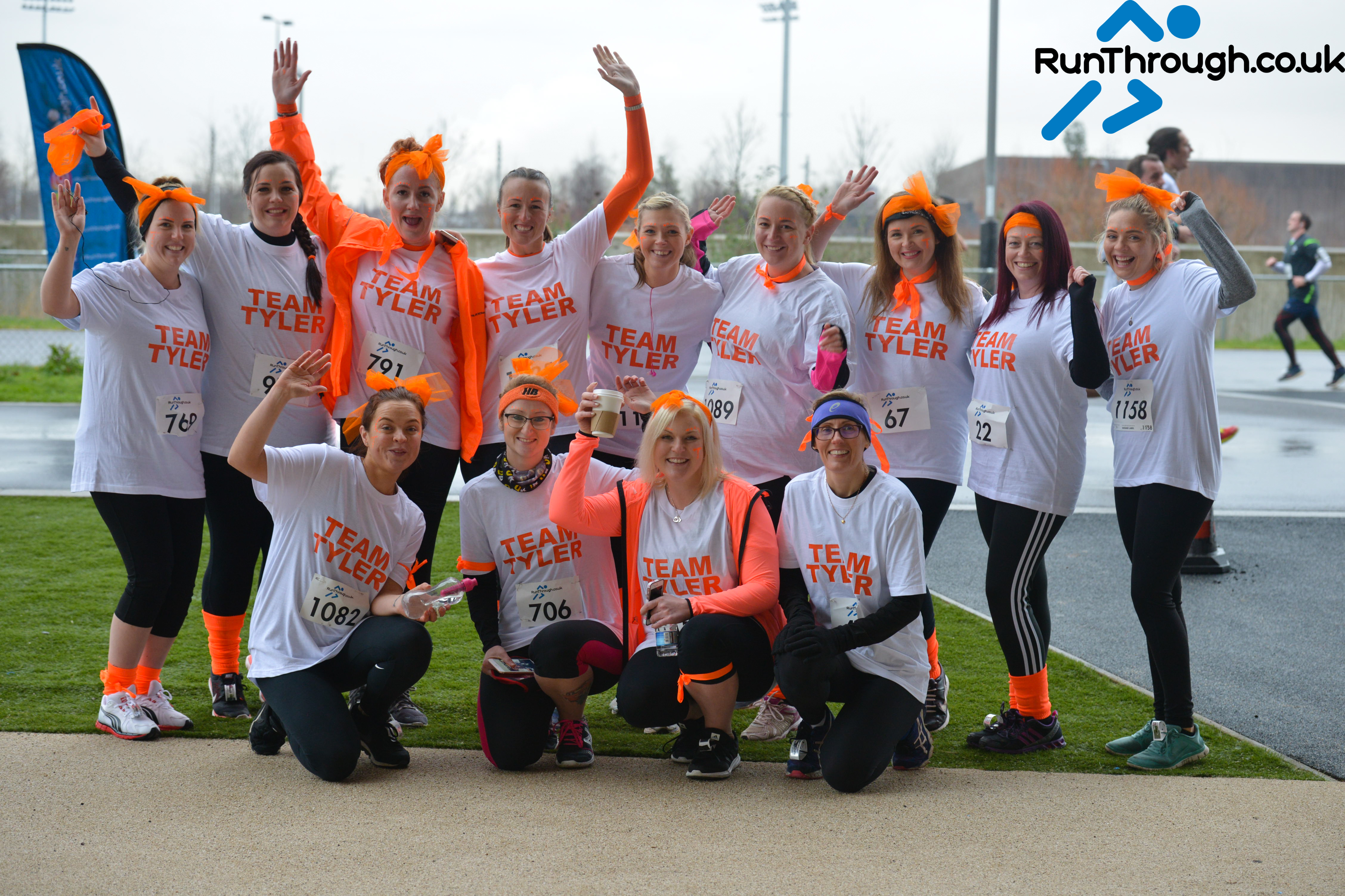Runner Feature – Team Tyler
