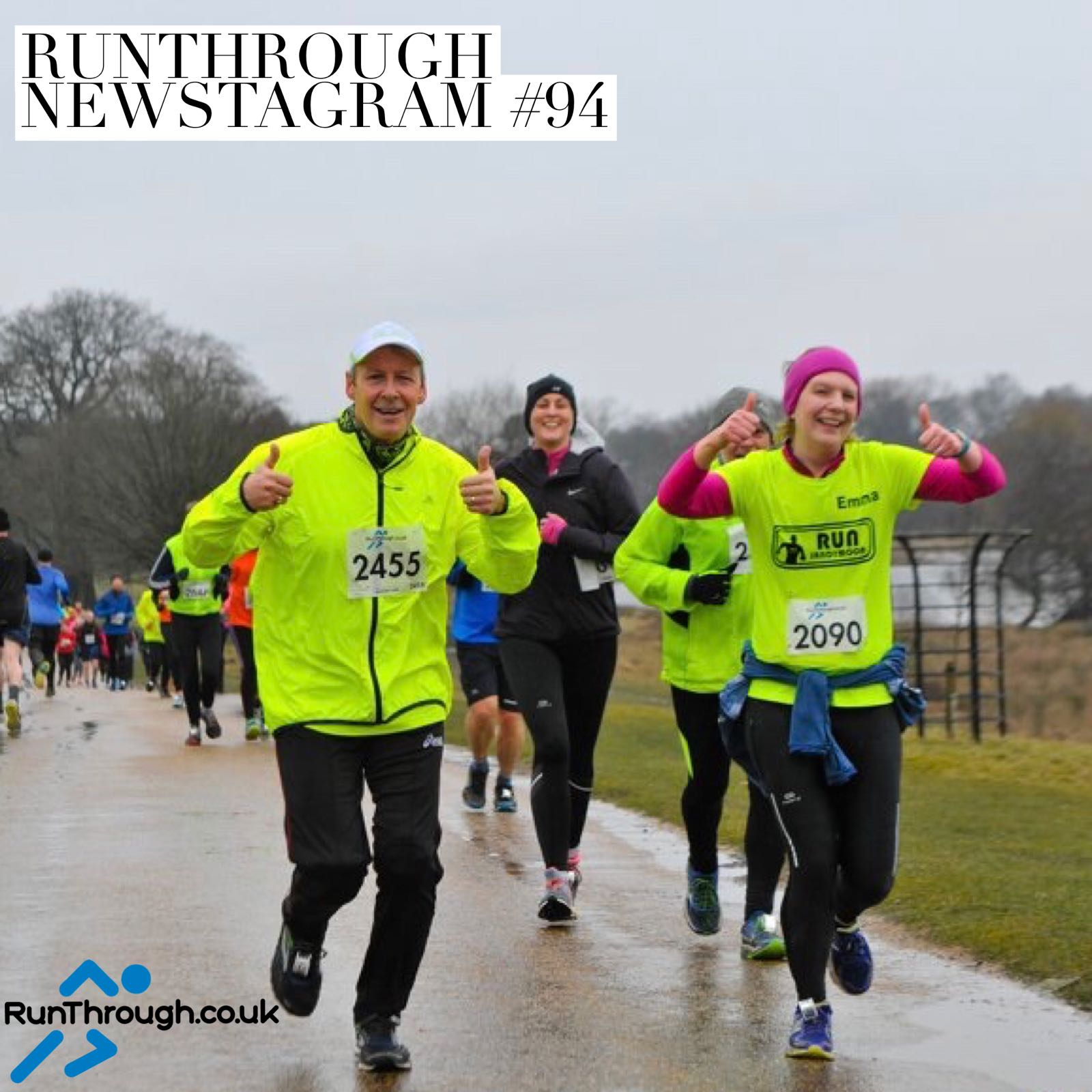 RunThrough Newsletter 12th March 2018