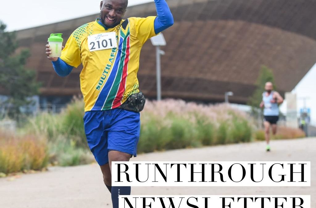 RunThrough Newsletter 2nd November 2020