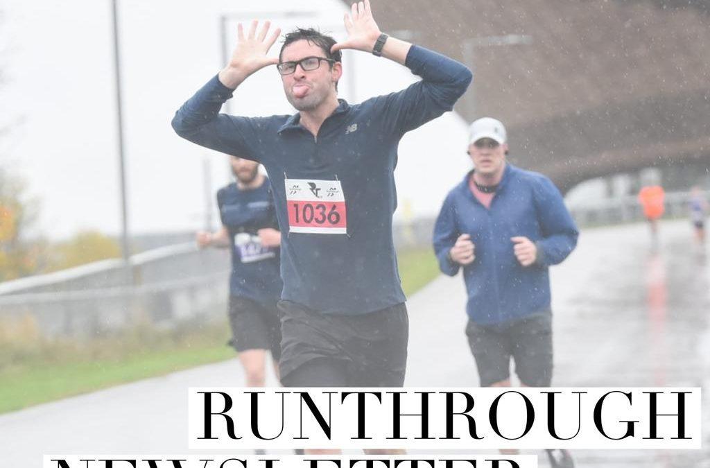 RunThrough Newsletter 7th December 2020