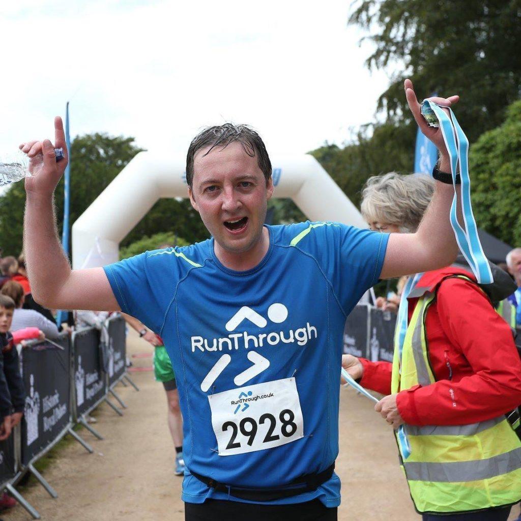 Runner Feature - Geoff Dickson RunThrough Running Club London