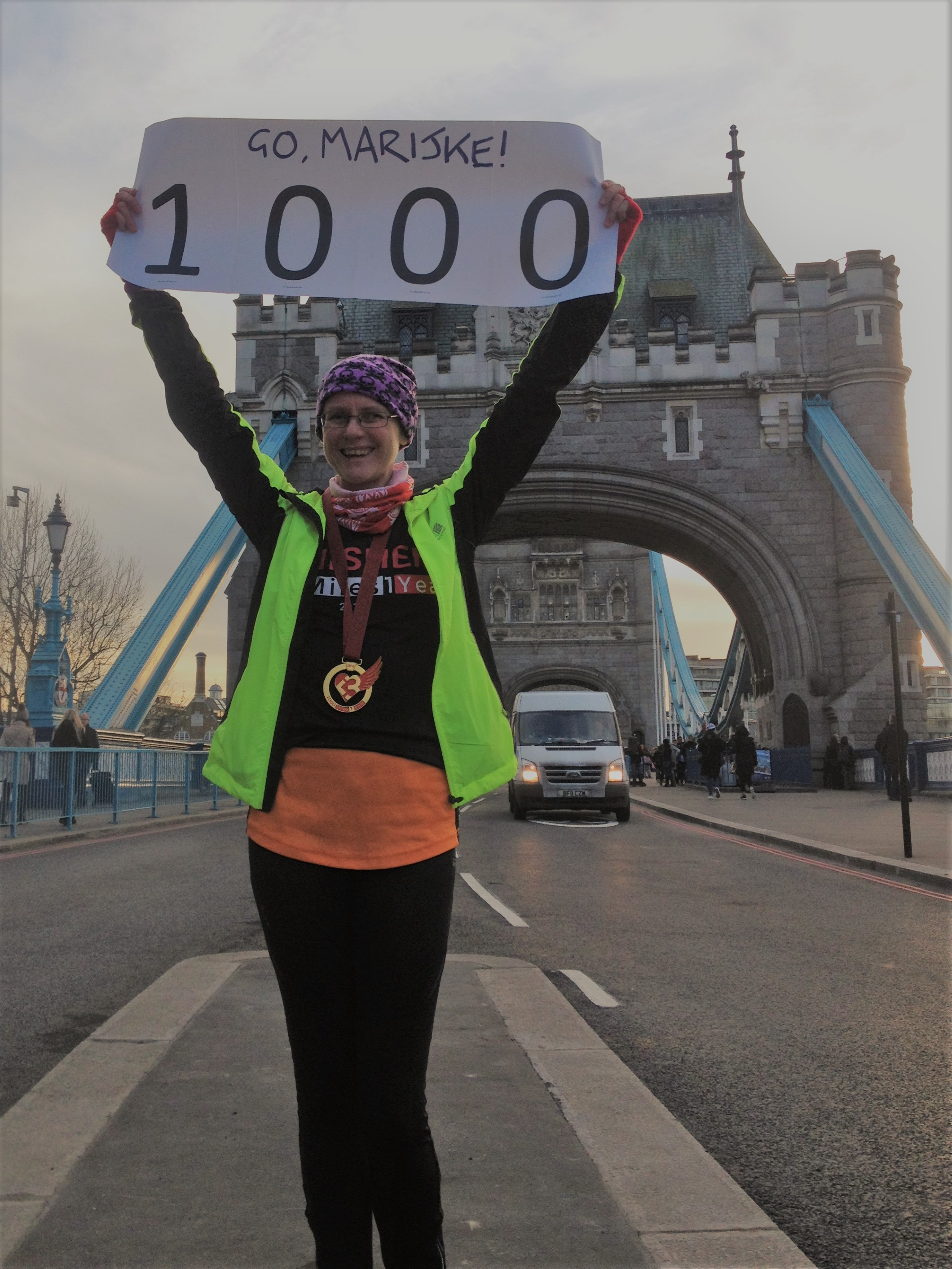 Runner Feature - Marijke Jensen RunThrough Running Club London