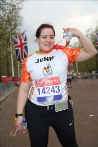 Runner Feature - Jenni Gilson RunThrough Running Club London
