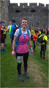 Woman versus Mountain RunThrough Running Club London