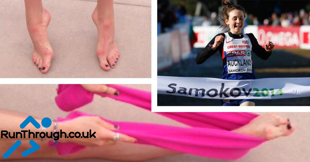 Baring it all; Running Feet-uring no shoes!